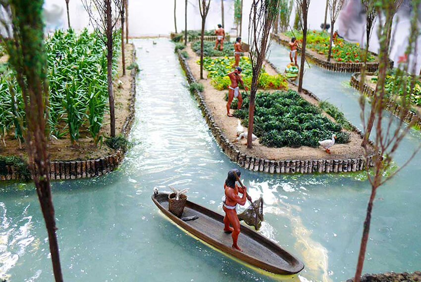 Scopriamo i Chinampas, i giardini galleggianti messicani - image chinampas01 on http://www.designedoo.it