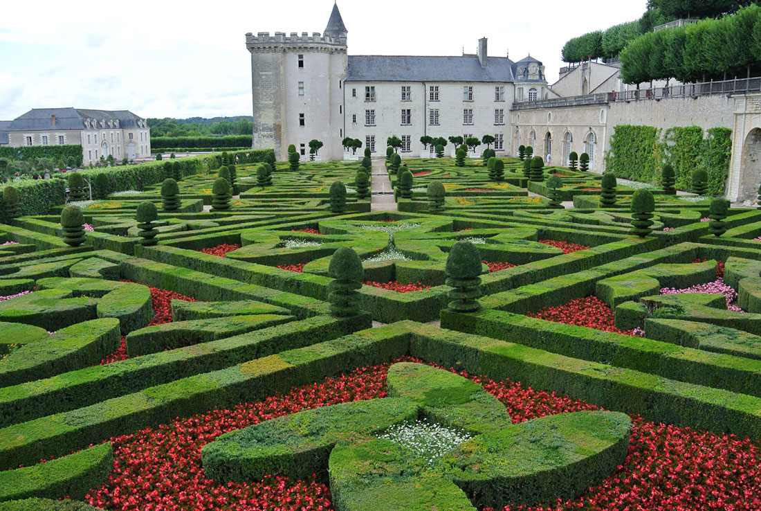 Giardini da visitare i giardini di villandry for Giardini da visitare